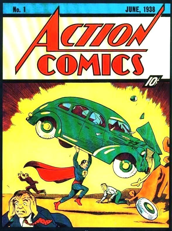 Action Comics with Superman