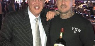 Motocross superstar Carey Hart, Rapper Big B, and Counting Cars' Horny Mike enjoy the weekend at the D Casino Hotel