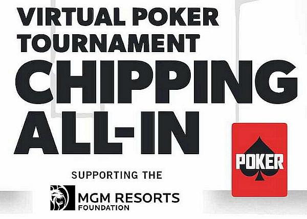 Golf's Biggest Stars Compete in 'Chipping All-In' Charity Poker Tournament Thursday, April 16