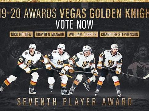 Vegas Golden Knights to Host Regular Season Awards Ceremony After the Final Home Game of the 2019-20 Regular Season