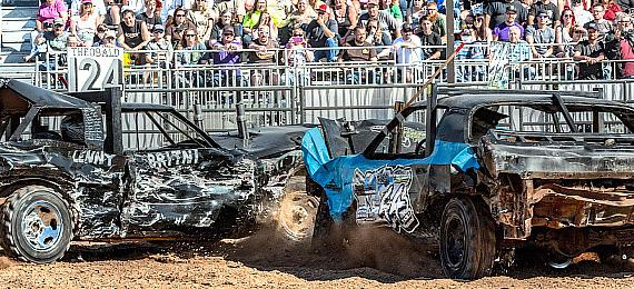 Plaza Hotel & Casino Welcomes Bigger 3-Day Demolition Derby to Core Arena; Stirrin' Dirt Racing to Hold Sin City Showdown, Nov. 14-16