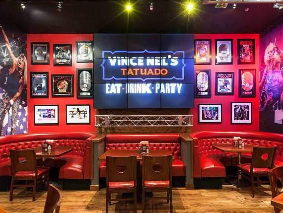 Vince Neil's 'Eat, Drink Party' at Circus Circus Rocking in 2014