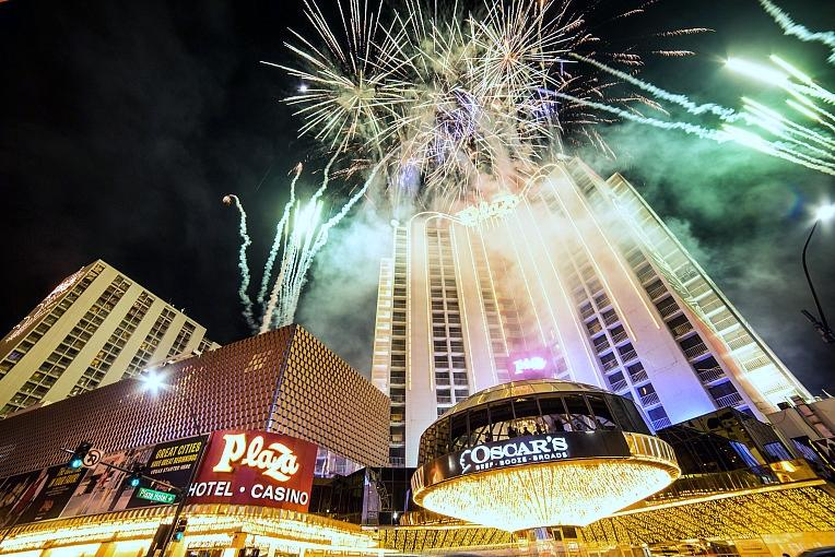 Plaza Hotel & Casino to Celebrate July 4th With Live Fireworks Show at 10pm