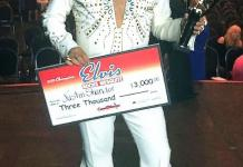 "Justin Shandor from Las Vegas, Nev. Wins 10th Annual ""Elvis Rocks Mesquite"""