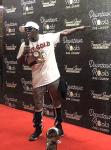 Flavor Flav gives a shoutout to Fremont Street Experience in Las Vegas