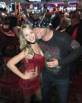 """""""Counting Cars"""" star Horny Mike with Dancing Dealer at the D Las Vegas"""