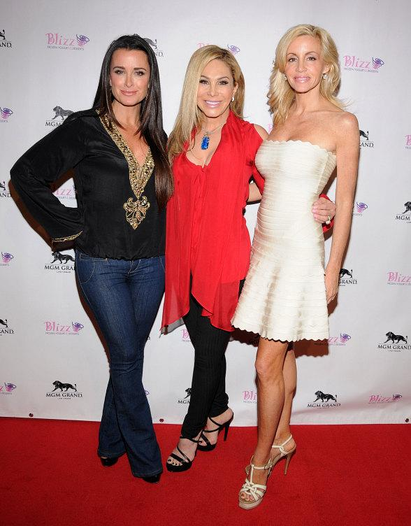 The Real Housewives of Beverly Hills: Kyle Richards, Adrienne Maloof and Camille Grammer