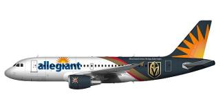 Allegiant Debuts Official Domestic Airline of the Vegas Golden Knights