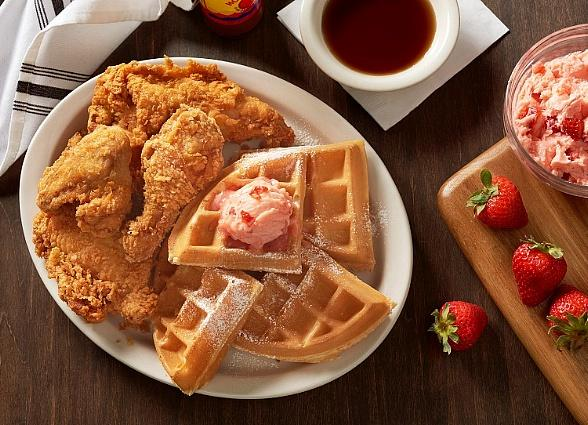 Metro Diner Declares August 8th National Fried Chicken & Waffle Day