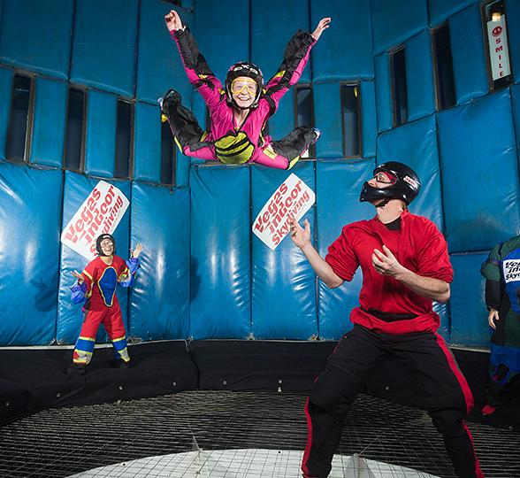 """""""Share The Love"""" and Take Your Adventures to New Heights at Vegas Indoor Skydiving"""
