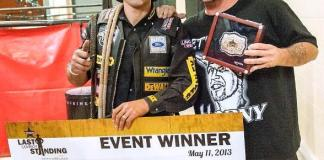 """Horny Mike from """"Counting Cars"""" Congratulates Silvano Alves as Winner of PBR's Last Cowboy Standing"""
