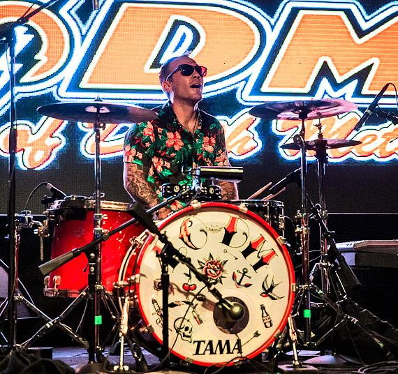 Eagles of Death Metal perform at Friday Night Live at Hard Rock Hotel & Casino