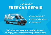 RepairSmith Donates $100K in Free, 'No-Contact Car Repair' Services
