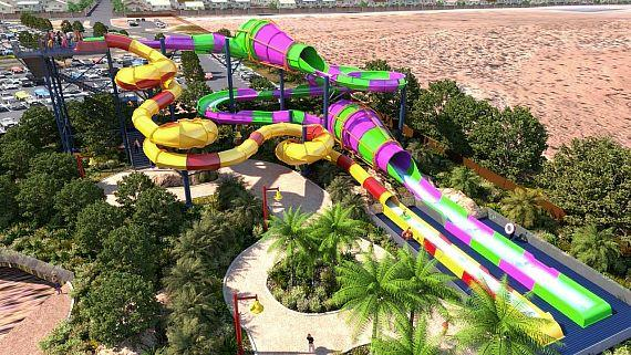 Artist's concept image of the new Wet 'n' Wild in Las Vegas