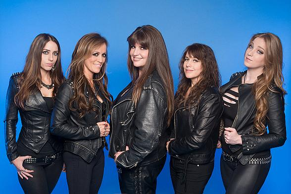 """Iron Maiden Female Tribute Band """"The Iron Maidens"""" to Perform at Sam's Town Live! Sept. 12"""