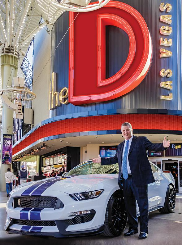 """Satisfy your 'Need For Speed' with """"Win Derek's Shelby GT"""" Promotion at the D Las Vegas"""