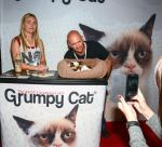 Grumpy Cat at Licensing Expo