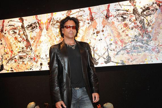 """Richard Grieco """"Works on Canvas"""" Art Exhibit at Wyland Galleries"""