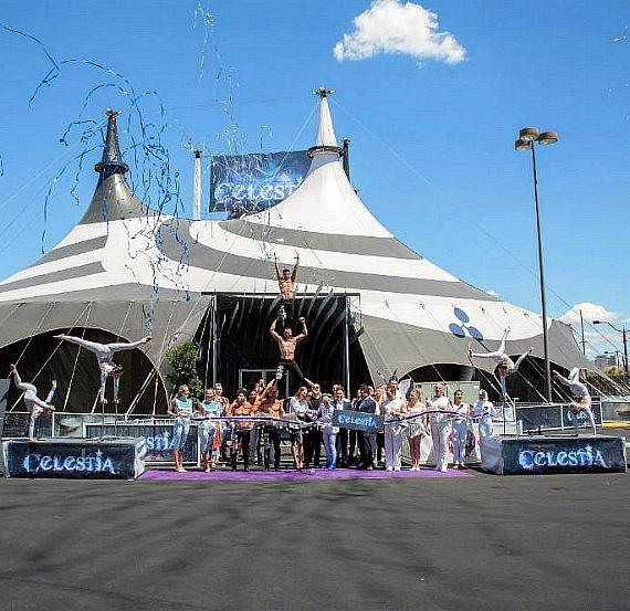 """The STRAT Hotel, Casino and Skypod Welcomes """"CELESTIA"""" to the Las Vegas Strip With Breathtaking Ribbon Cutting Ceremony"""