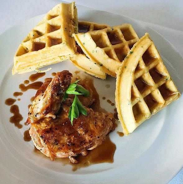 Where to Celebrate Fried Chicken & Waffles Day in Las Vegas