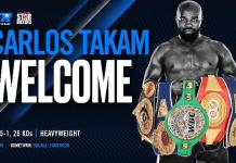 Top Rank and Star Boxing Join Forces to Promote Heavyweight Contender Carlos Takam