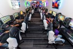 The LINQ Hotel + Experience's new eSports lounge.