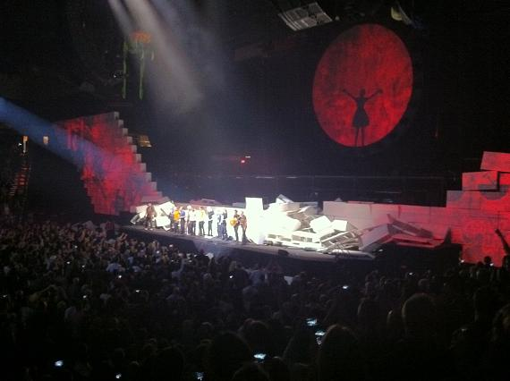 """Roger Waters performs Pink Floyd's """"The Wall"""" at MGM Grand Garden Area"""