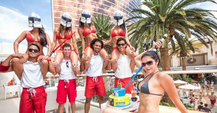 Encore Beach Club August Events
