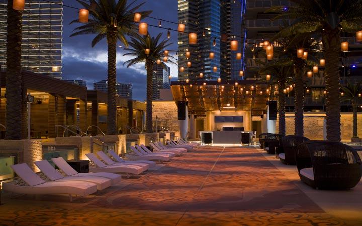 Marquee Dayclub Adult Pools in Vegas