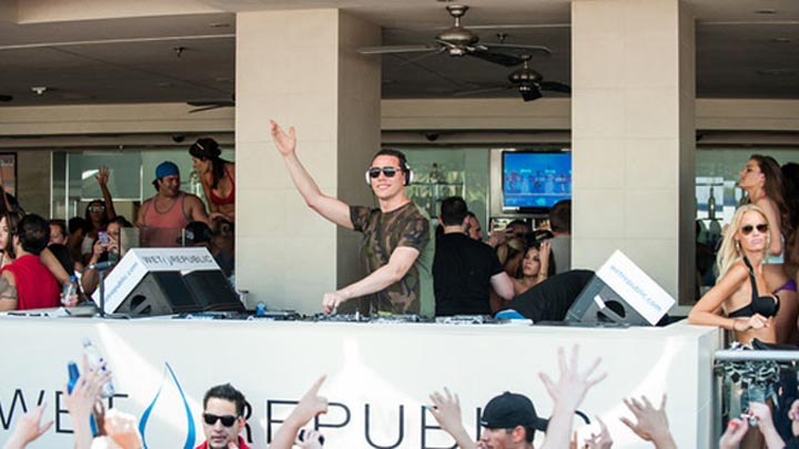 Tiesto Las Vegas | Wet Republic