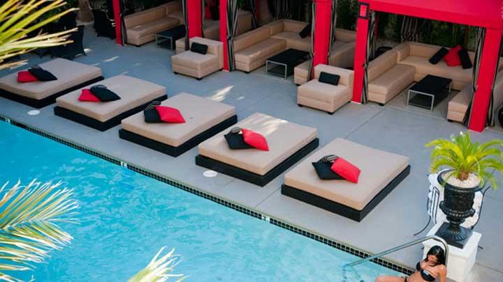 Naked Pool at Artisan Hotel