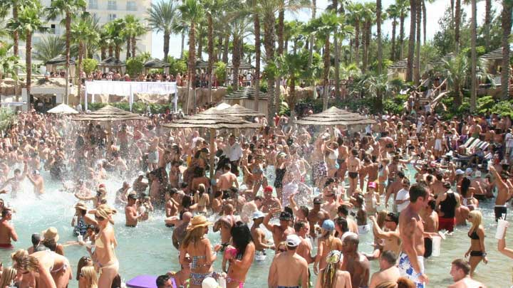 Rehab Pool Party Opening Day 2014