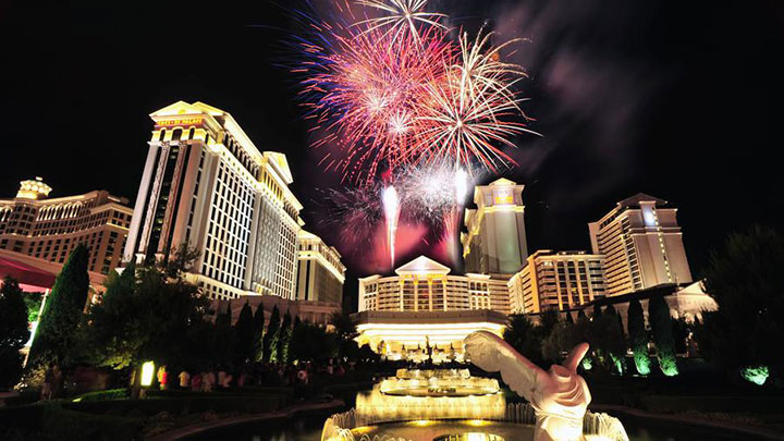 New Year's Eve Fireworks Show Las Vegas