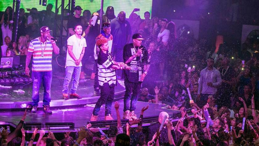 Chris Brown Drai's Labor Day Weekend 2015
