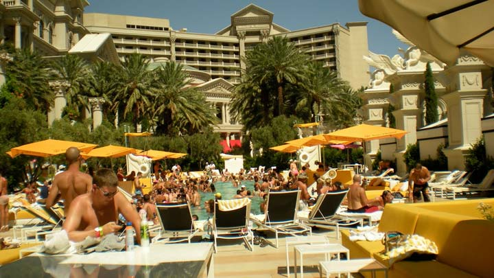 Caesar's Palace Pool