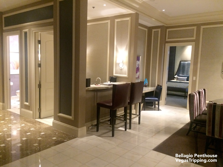 the two-bedroom penthouse suite at bellagio: if i must