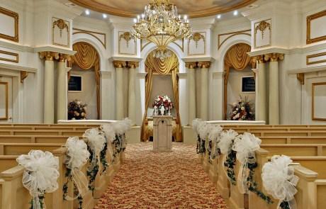 wedding chapel at Paris