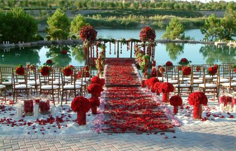 Beach Wedding at Hilton Lake Las Vegas