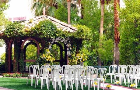 Garden Gazebo at Flamingo