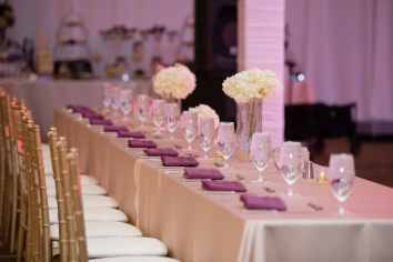right tablecloth size for your wedding