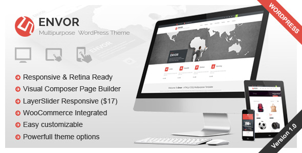 Inspira - Responsive Multipurpose WordPress Theme - 3