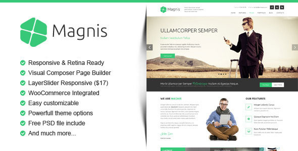 Biss - Corporate Multipurpose WordPress Theme - 1