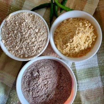 Healthy Ragi Tawa Paratha