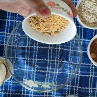 powdered jaggery oatmeal
