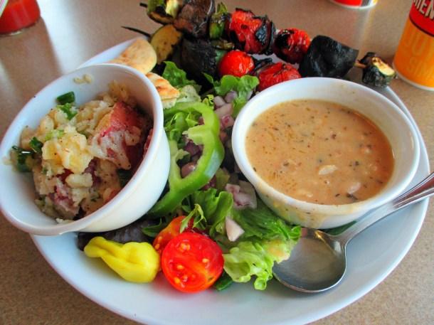 Restaurant Review Zoes Kitchen  VegCharlotte
