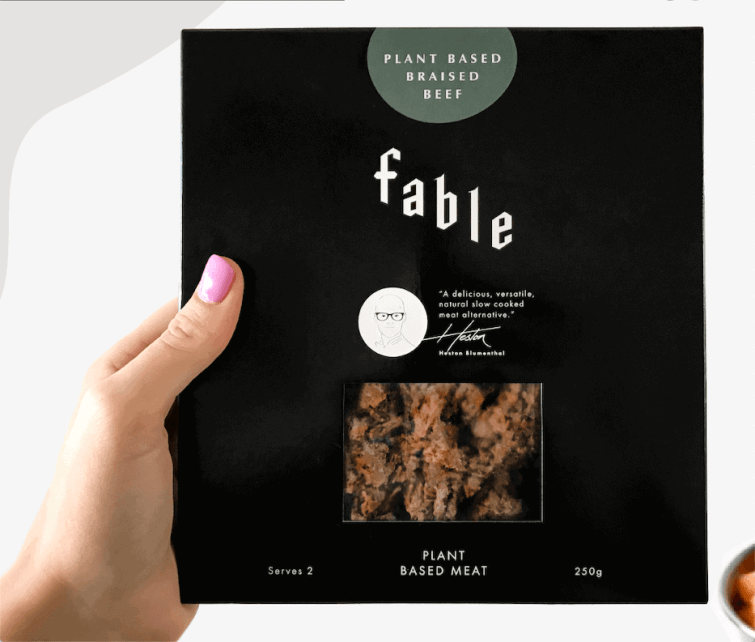 Fable Braised Beef Retail Pack