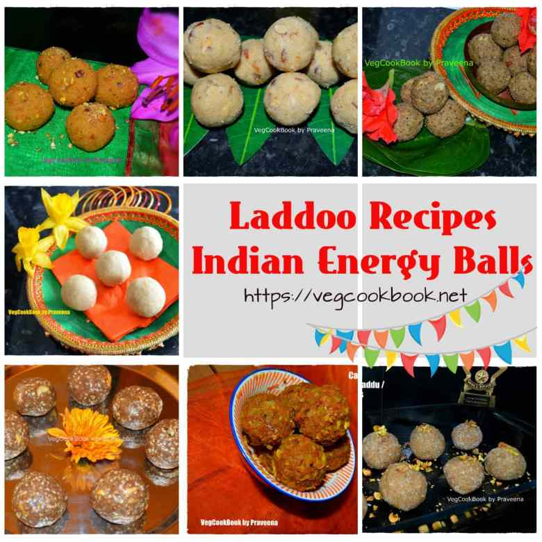laddoo recipes indian energy balls
