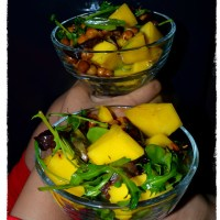 Chickpea Sprouts - Mango Salad