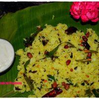 Munagaku Pulihora / Moringa / Drumstick Leaves Rice
