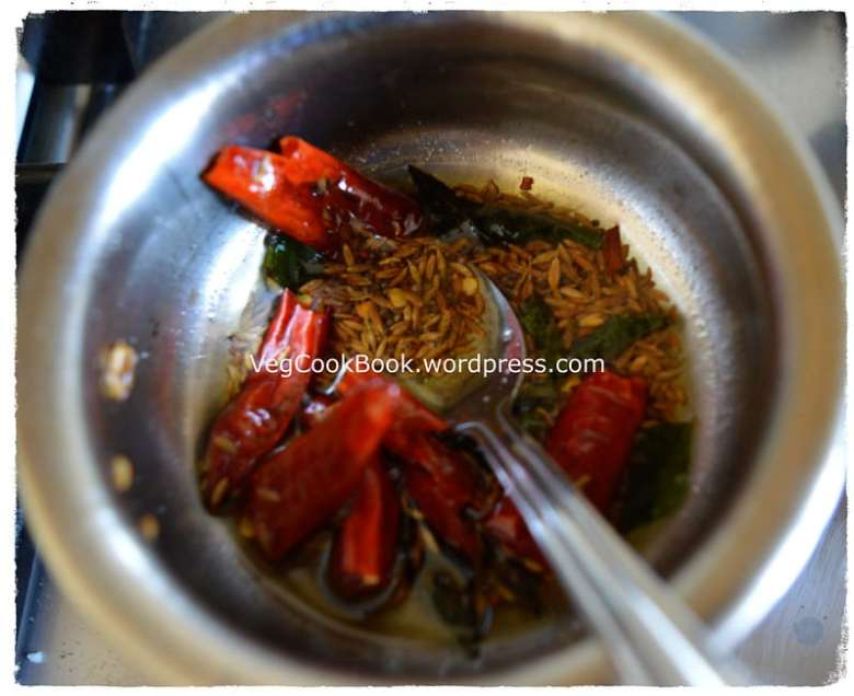 green cucumber lentil stew